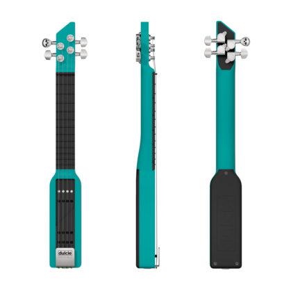 Dulcie pocket guitare électrique couleur vert canard
