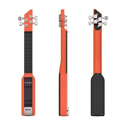 Dulcie pocket guitare électrique résine orange